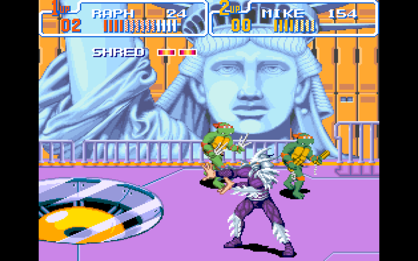 Statue of Liberty TMNT IV
